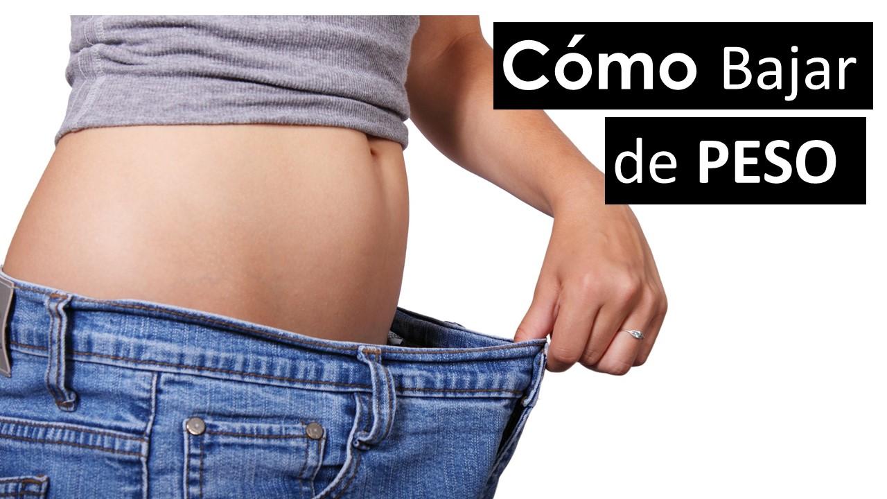 Como bajar de peso sin dietas exageradas